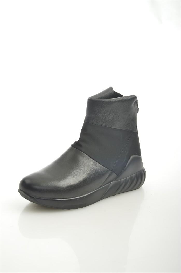 женские ботинки на каблуке summergirl, черные