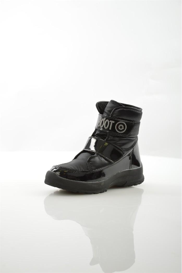 женские ботинки на каблуке spur, черные