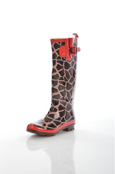 женские сапоги на каблуке vitacci, красные