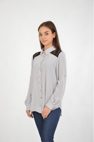 Блузка Moda di Chiara dania moda свитшот дания мода a3658 1015 серый б р серый
