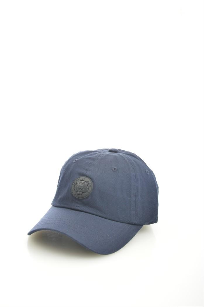мужская бейсболка kenzo, синяя