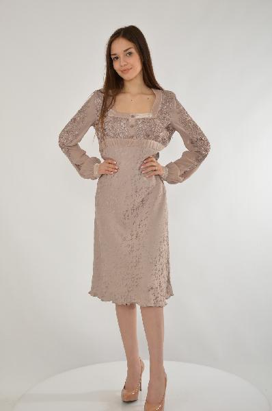 Платье Ebene павлово посадский шелк