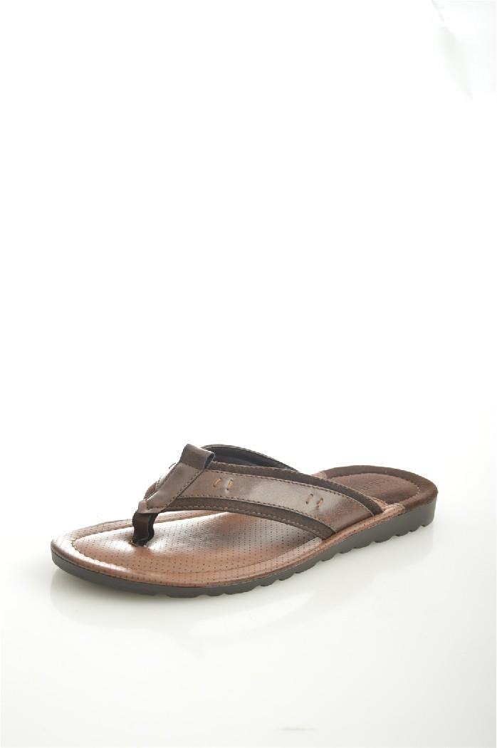 мужские шлепанцы pradella, коричневые