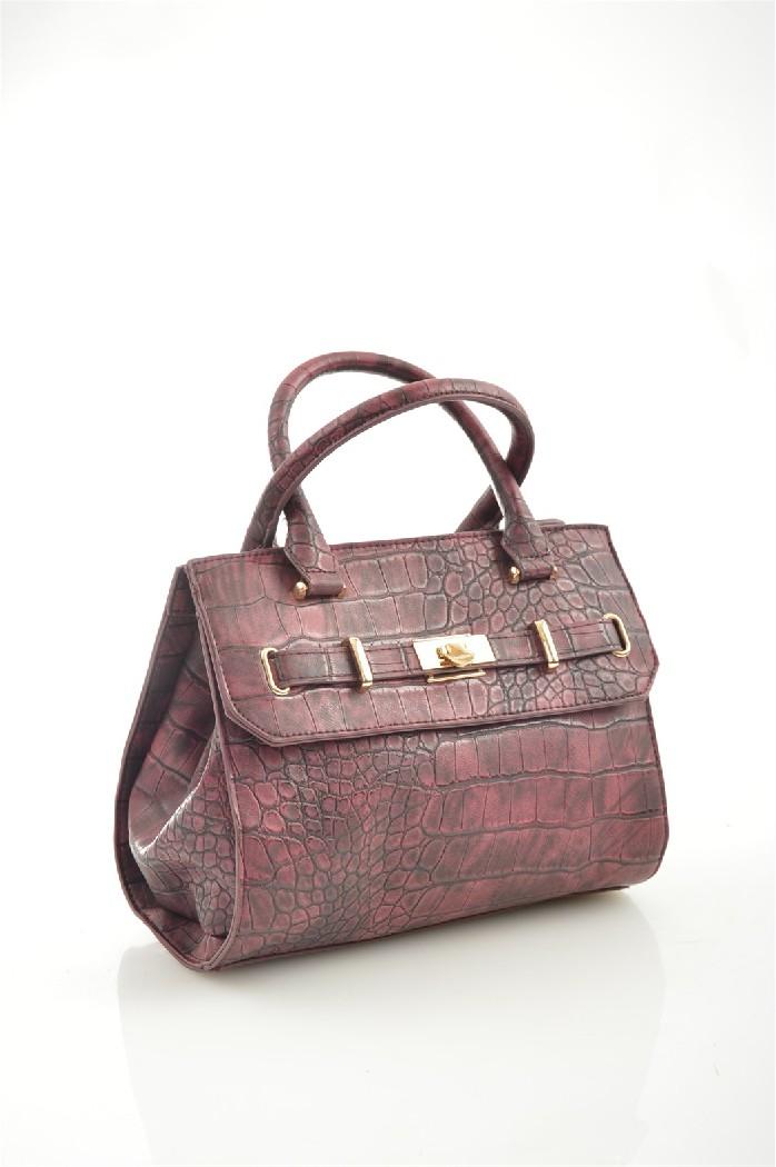 женская сумка bebe, бордовая