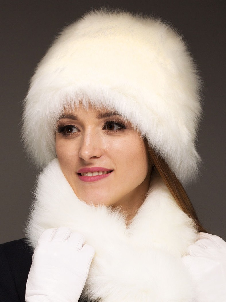 Купить Шапка снопик под зайца ZIMA, БЕЛАРУСЬ, Белый, Акрил, ЗИМА, Осень-зима