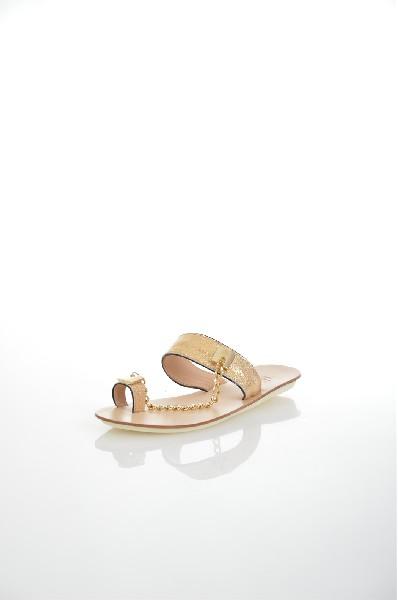 женское сабо на каблуке benta, желтое