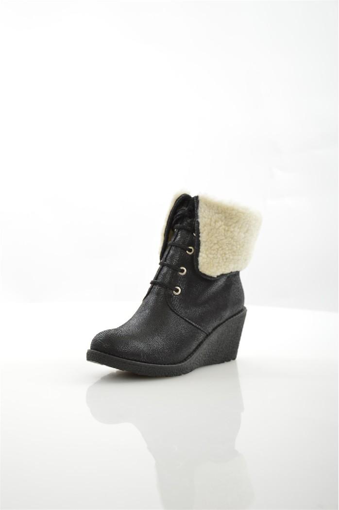 Купить Ботинки Dino Ricci, DINO RICCI TREND, РОССИЯ, Черный, Искусственная кожа, ЗИМА, Осень-зима