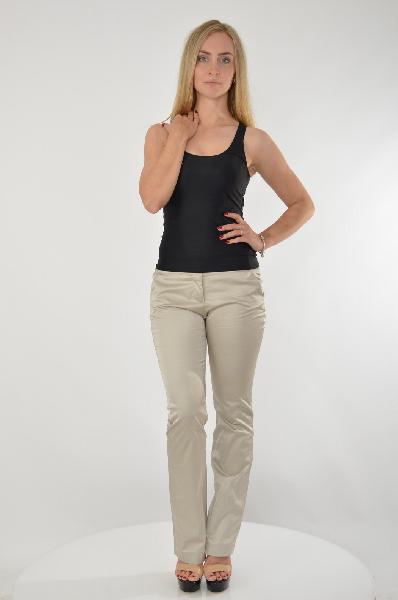 женские брюки guess by marciano, бежевые