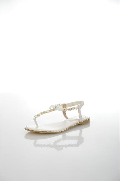 женские сандалии amazonga, белые