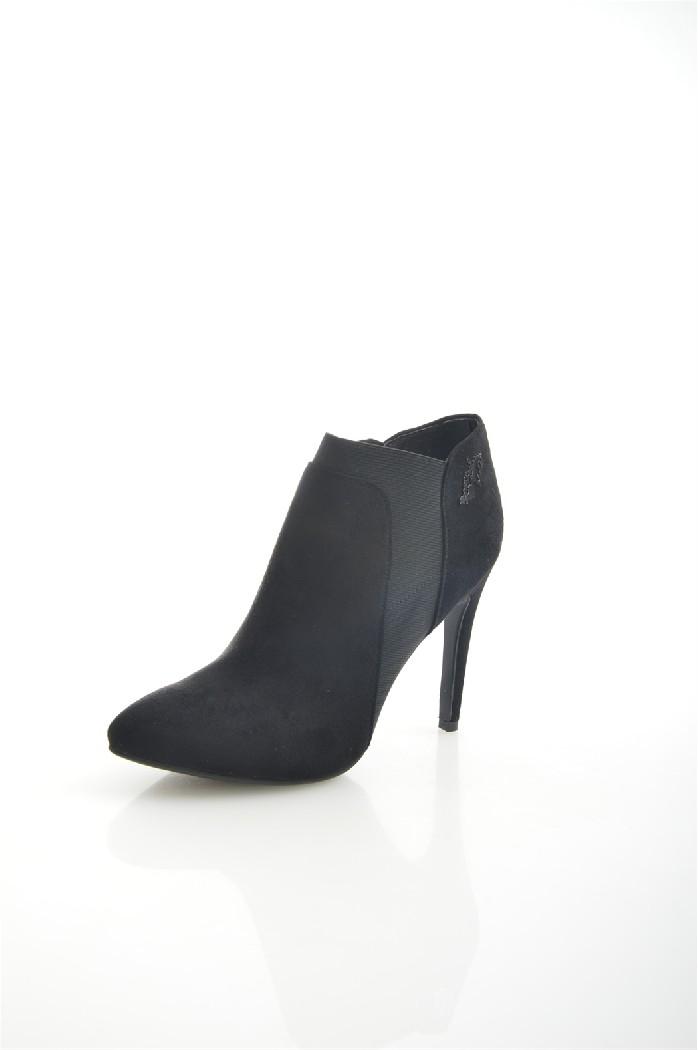 женские ботильоны на каблуке braccialini, черные