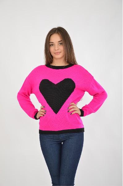 женский джемпер colambetta, розовый