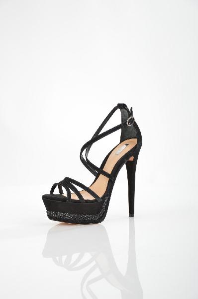 женские босоножки на каблуке schutz, черные