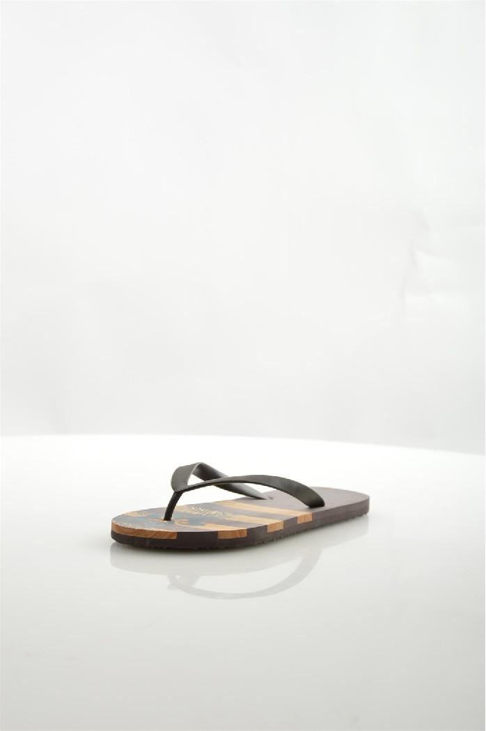мужские шлепанцы de fonseca, коричневые