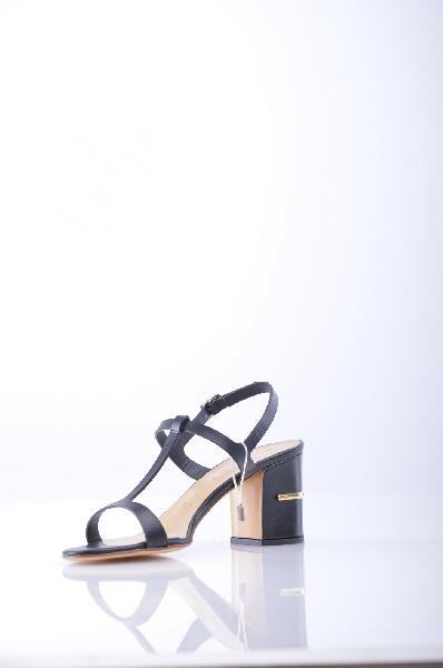 женские босоножки на каблуке vicini, черные
