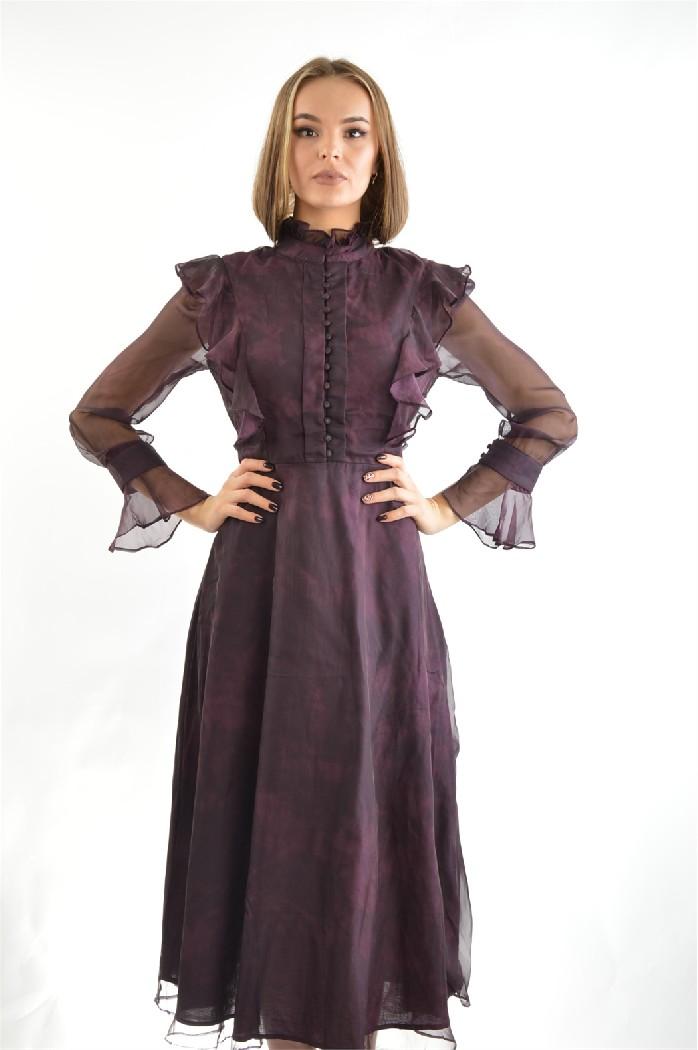 Платье Cavo, Бордовый