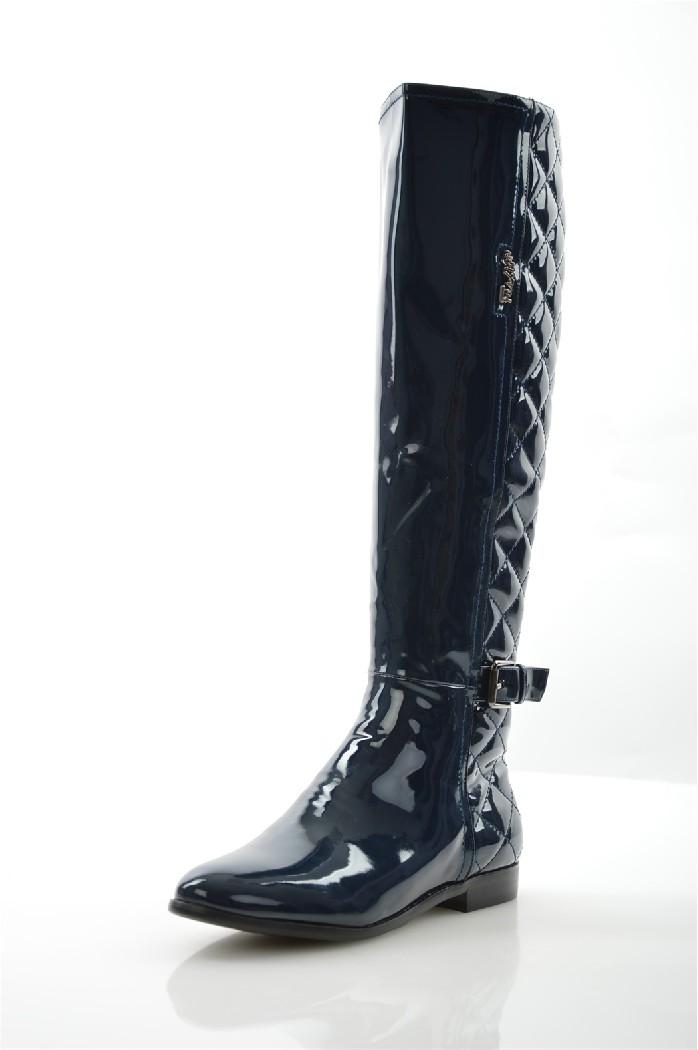 ботфорты на каблуке vitacci для девочки, синие