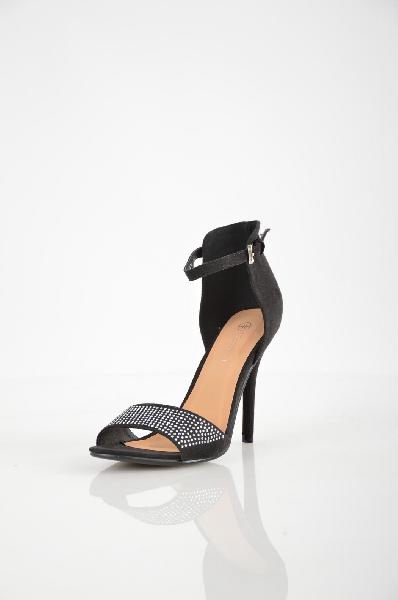 женские босоножки на каблуке t.taccardi for kari, черные