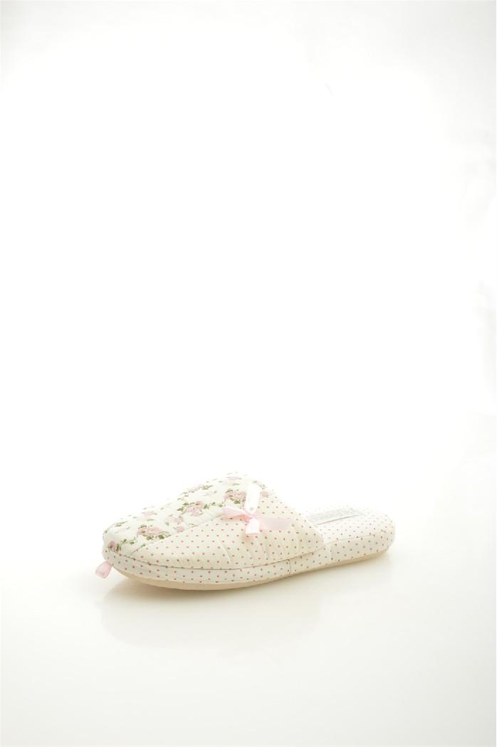 женские тапочки de fonseca, белые