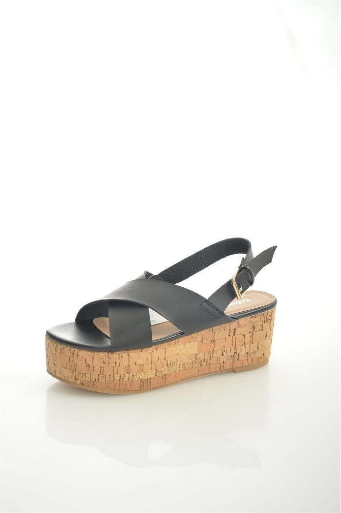 женские босоножки на каблуке befree, черные