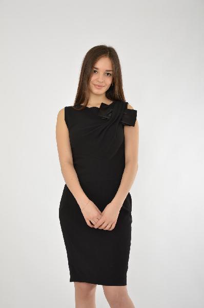 женское платье jus d'orange, черное