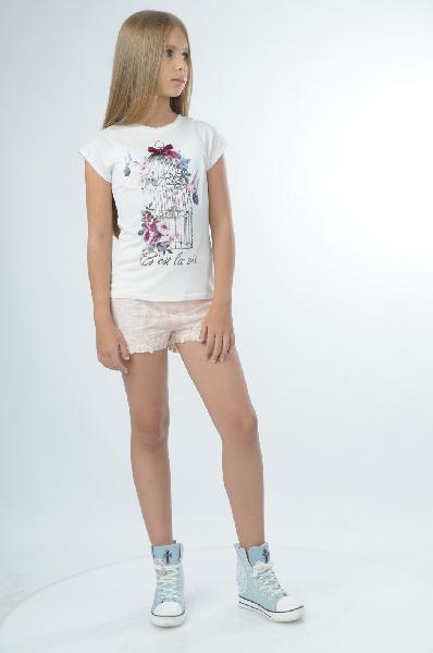 Шорты Mango kids шорты didriksons1913 meron kids shorts 500046 размер 120 см цвет 377 маковый