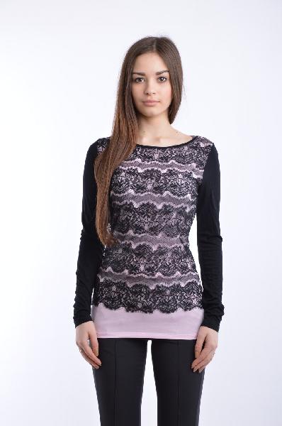женская футболка с круглым вырезом guess by marciano, разноцветная