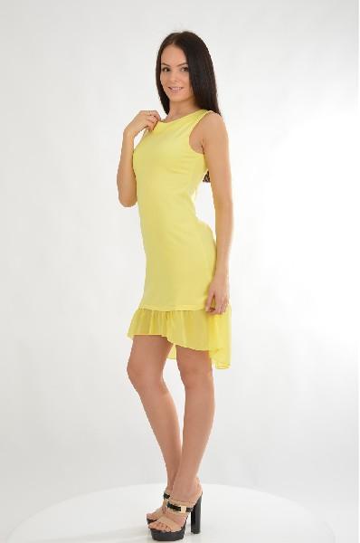 Фото - Женское платье NicClub желтого цвета