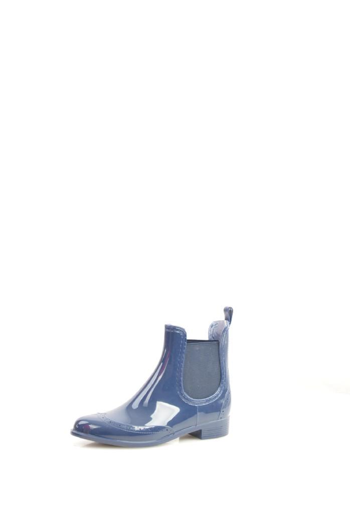 женские резиновые полусапожки mon ami, синие