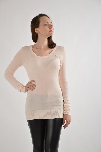 женский свитер gf ferre, розовый