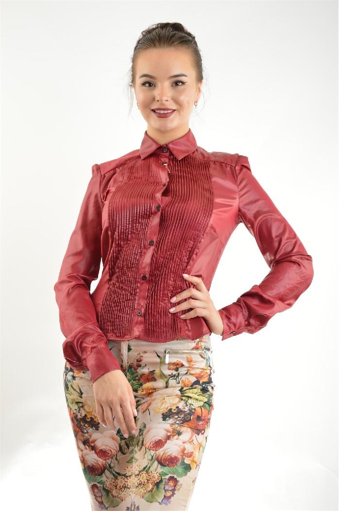 женская рубашка john richmond, красная