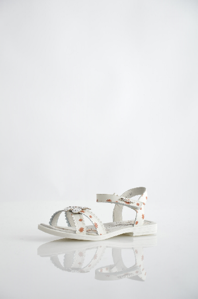 туфли на платформе vitacci для девочки, белые
