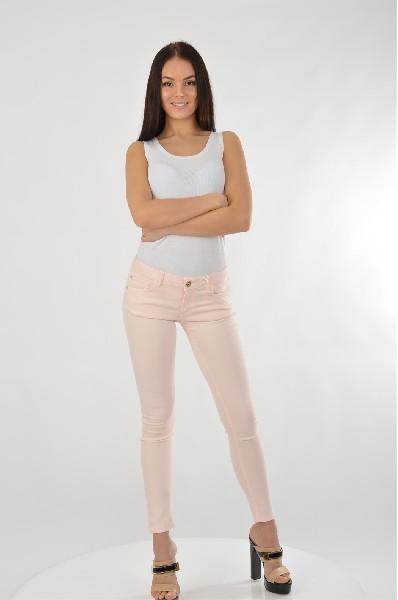 женские брюки maison espin, розовые
