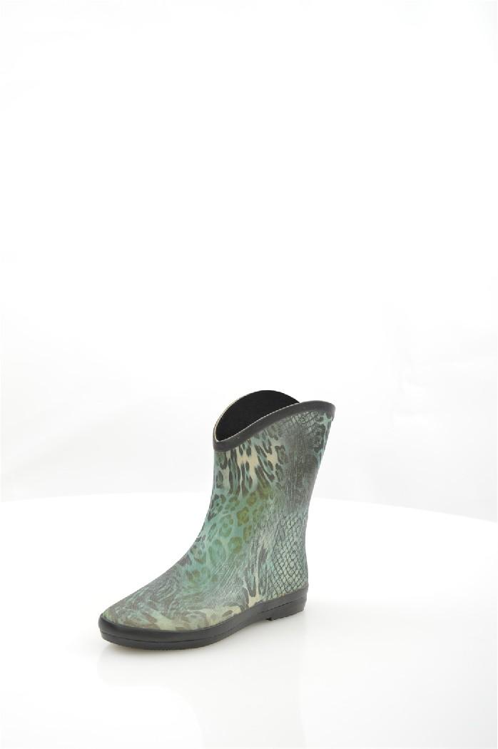 женские резиновые сапоги на каблуке nobbaro, разноцветные