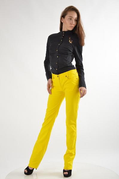 женские джинсы roccobarocco, желтые