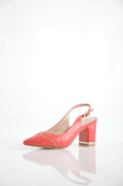 женские босоножки на каблуке renaissance, розовые