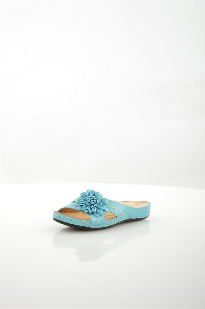 женское сабо на каблуке wilmar, голубое