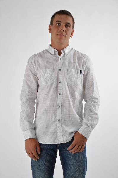мужская рубашка conver, белая