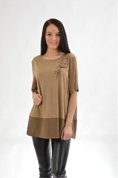 Блузка E.LEVY блуза figl блузы с коротким рукавом