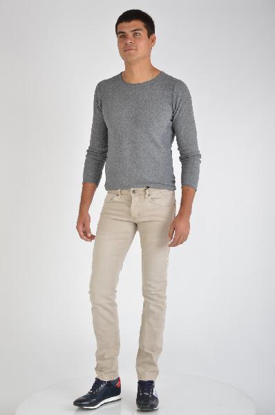 мужские брюки guess by marciano, бежевые