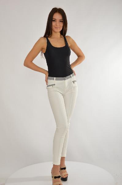 женские брюки mohito, белые