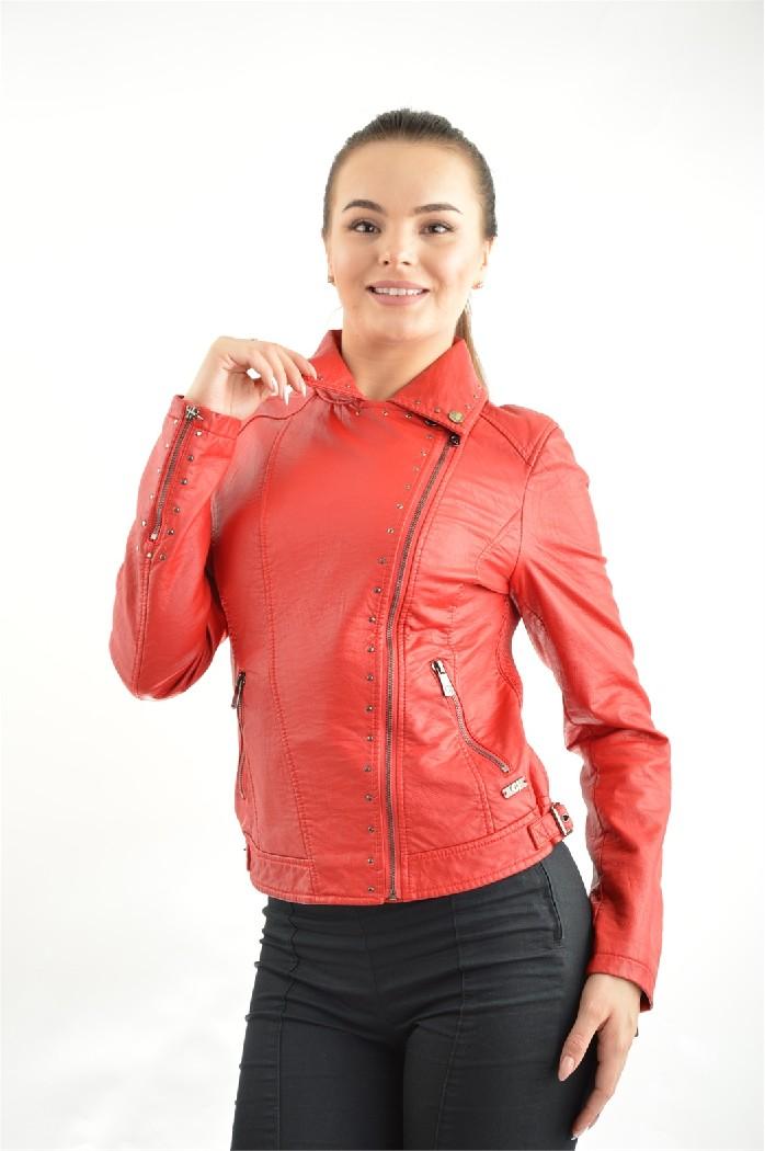 женская куртка gaudi, красная