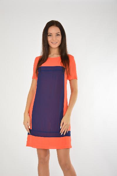женское платье best mountaine, оранжевое