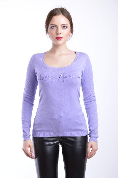 женский свитер guess by marciano, сиреневый