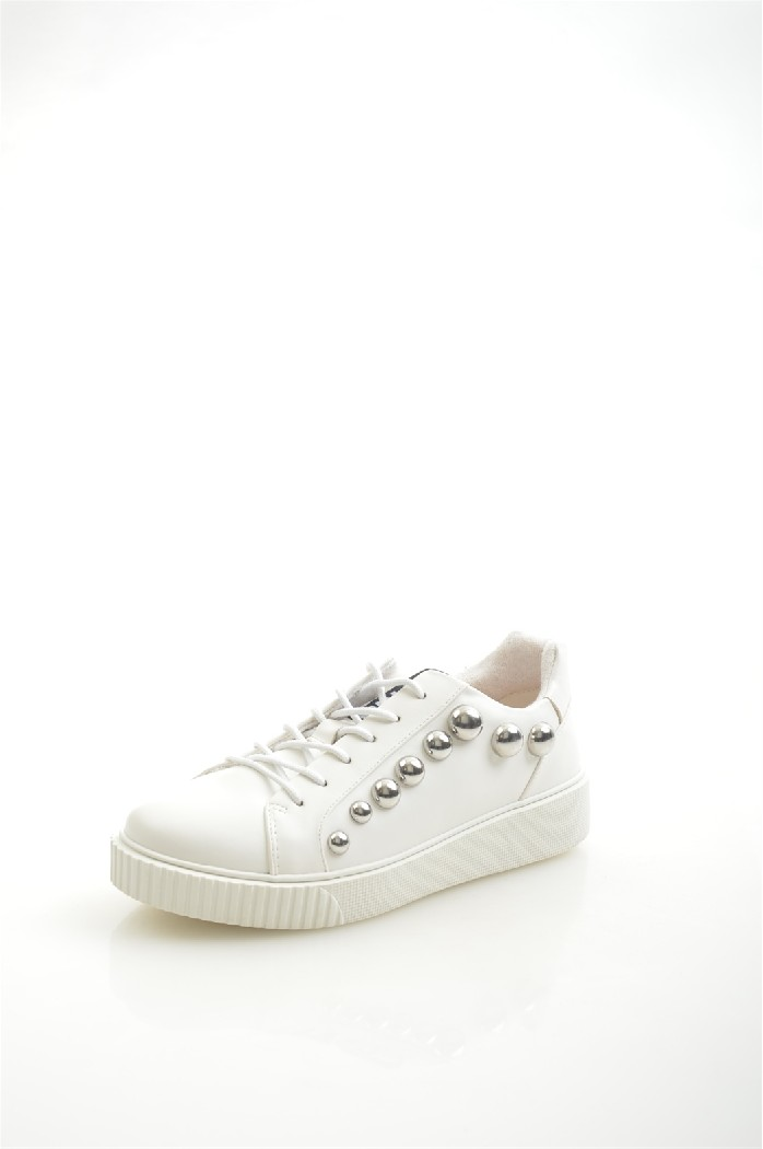 женские кеды на каблуке twin set, белые