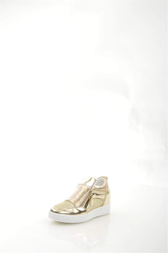 женские кеды на каблуке mixfeel, золотые