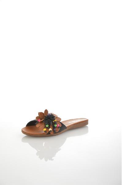 женское сабо на каблуке amazonga, черное