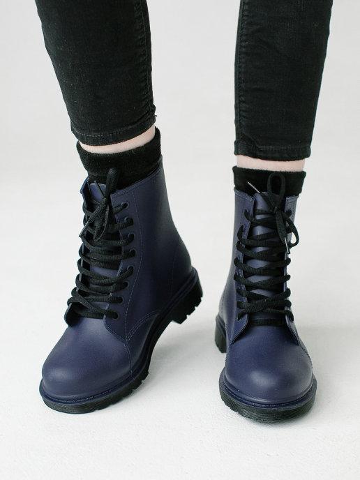 женские ботинки ana.r, синие