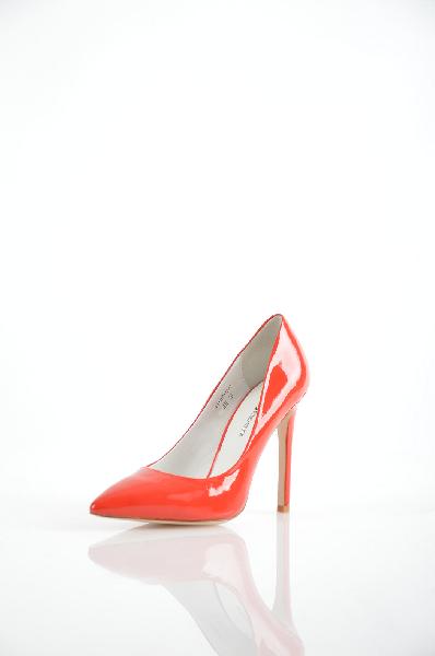 женские туфли на каблуке paolo conte, красные