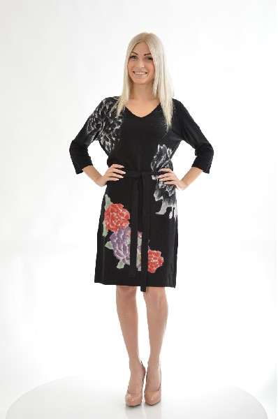 женское платье etincelle, черное