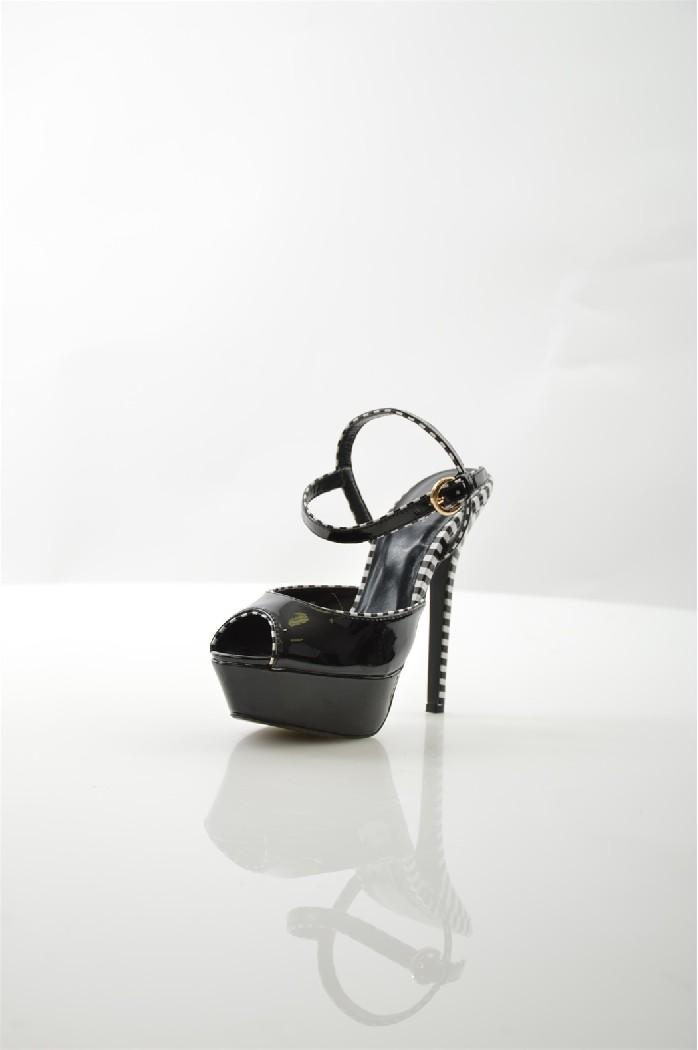 женские туфли на каблуке svetski, черные